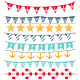 Marine Bunting and Garland Set - GraphicRiver Item for Sale