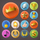 Awards and Achievement Icons - GraphicRiver Item for Sale
