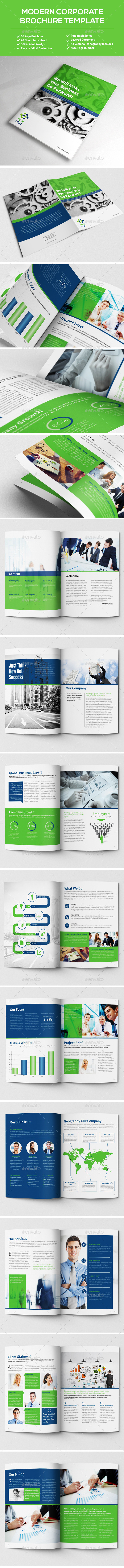 Multypurpose Corporate Brochure - Brochures Print Templates