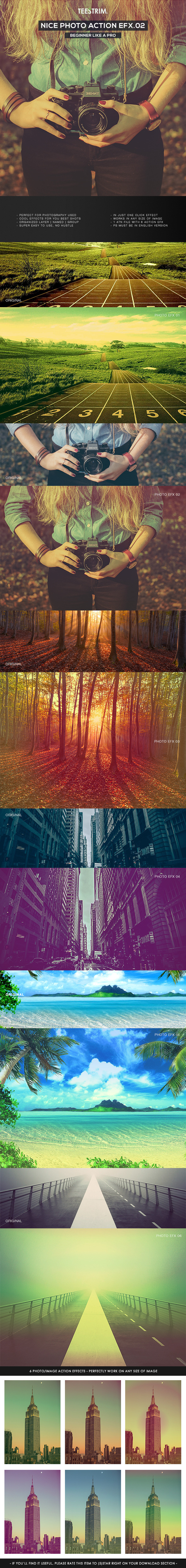 Nice Action - Photo Effects V.2 - Photo Effects Actions