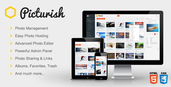 Picturish - Image hosting, editing and sharing - CodeCanyon Item for Sale