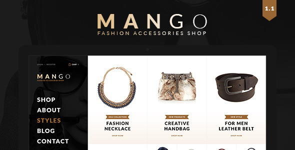 Mango – Creative Multi-Purpose WooCommerce Theme
