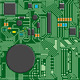 5 Circuit Board Pixel Seamless Modular Textures - GraphicRiver Item for Sale