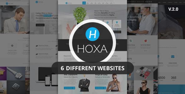 Hoxa – Responsive Multipurpose Joomla Template