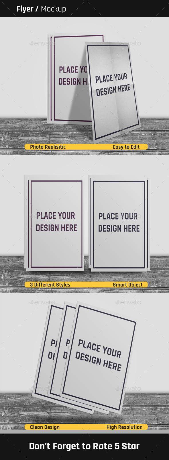Flyer Mock-Up - Flyers Print