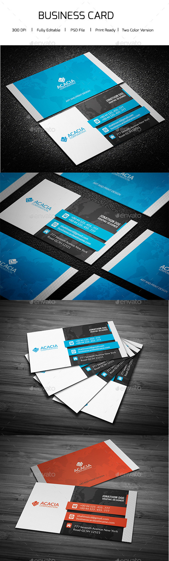 Creative and Elegant Business Card - Creative Business Cards