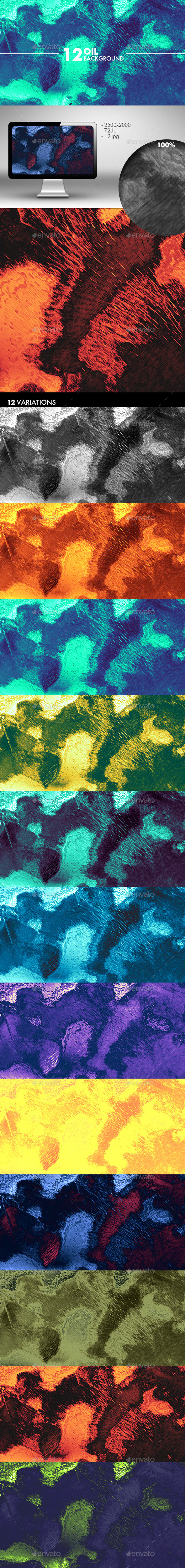 Oil Background - Abstract Backgrounds