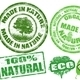 Made in Nature stamps - GraphicRiver Item for Sale