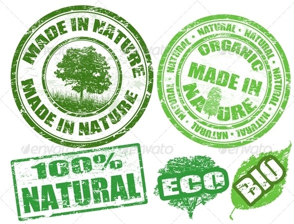 Made in Nature stamps - Organic Objects Objects