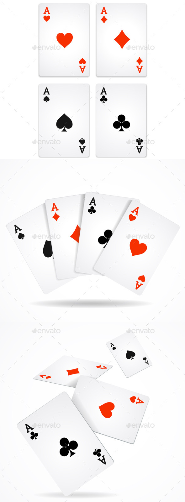 Playing Poker Cards - Miscellaneous Conceptual