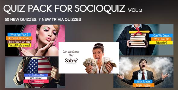 20 Quiz Pack for SocioQuiz Vol 4 - 4