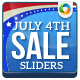 Independence Day Sliders - 3 Designs - GraphicRiver Item for Sale