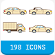 33 Car Body Types Icon Set - GraphicRiver Item for Sale