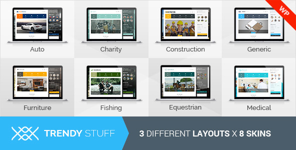 TrendyStuff - Multiconcept WordPress Theme