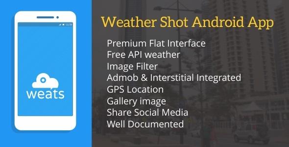 Weats(Weather shot) with Admob