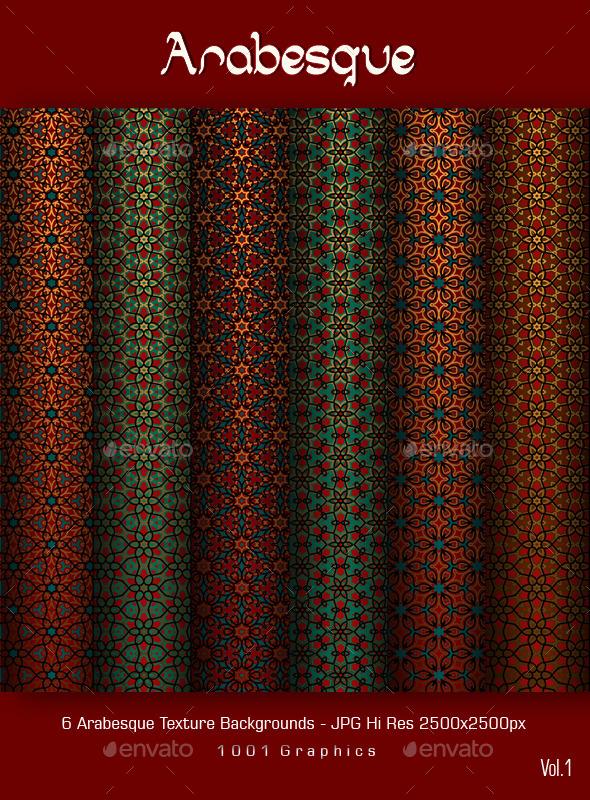 Arabesque Texture Vol.1  - Patterns Backgrounds
