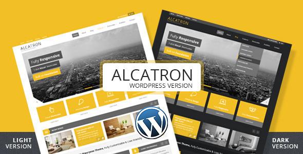 Alcatron – Multipurpose Responsive WP Theme