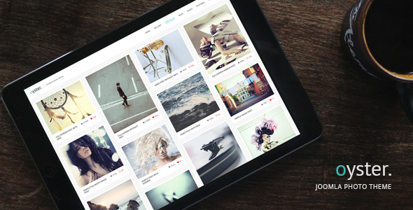 Oyster – Creative Photography Joomla Template - Photography Creative