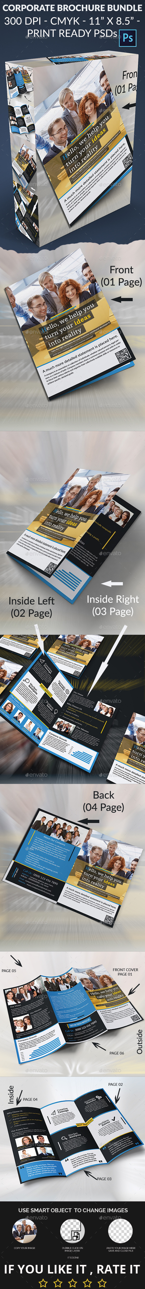 Corporate Brochure Bundle - Corporate Brochures