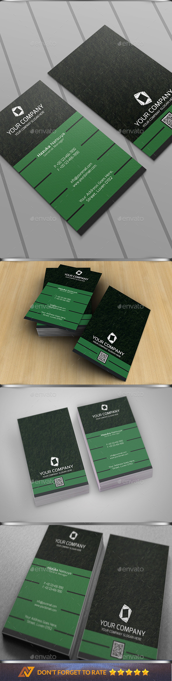 Modern Corporate Business Card Vol 2 - Business Cards Print Templates
