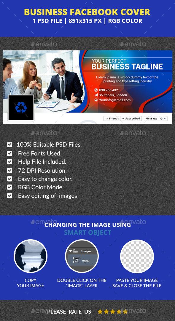 Business Facebook Cover v3 - Facebook Timeline Covers Social Media