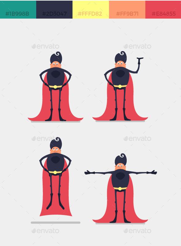 Character Superhero - People Characters