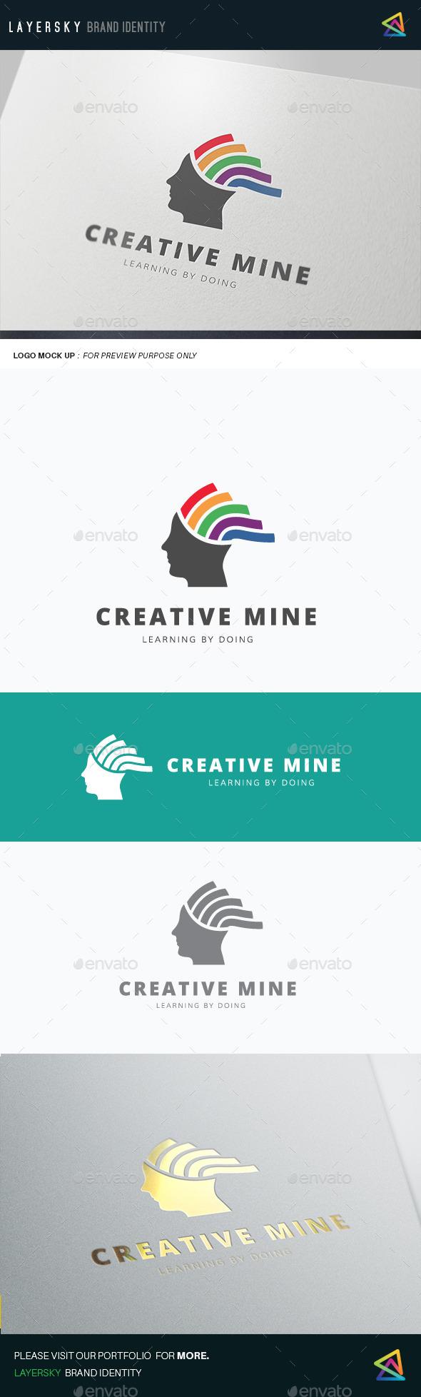 Creative Mine - Humans Logo Templates