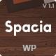Spacia Creative Wordpress Theme. - ThemeForest Item for Sale