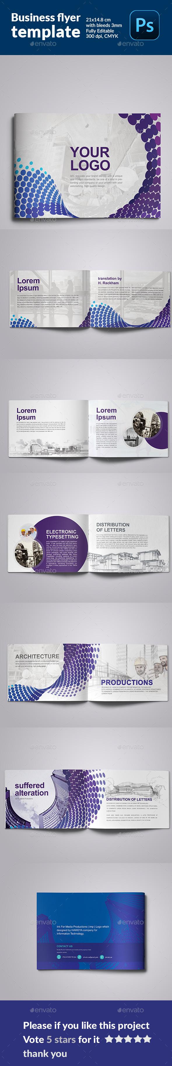 Minimal Modern  Architecture Brochure - Magazines Print Templates