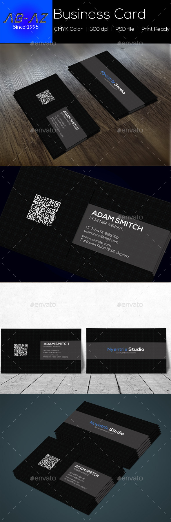 Style Clean Business Card - Corporate Business Cards