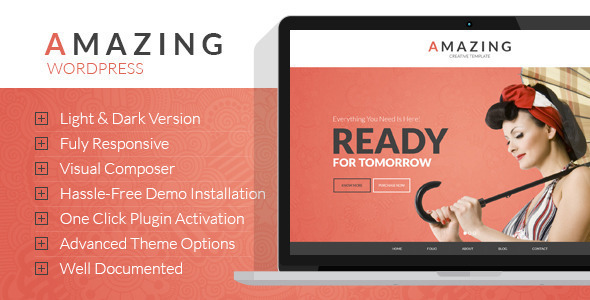 Amazing  Multi-Purpose WordPress Theme