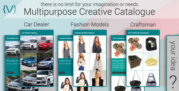 Multipurpose Creative Catalogue - CodeCanyon Item for Sale
