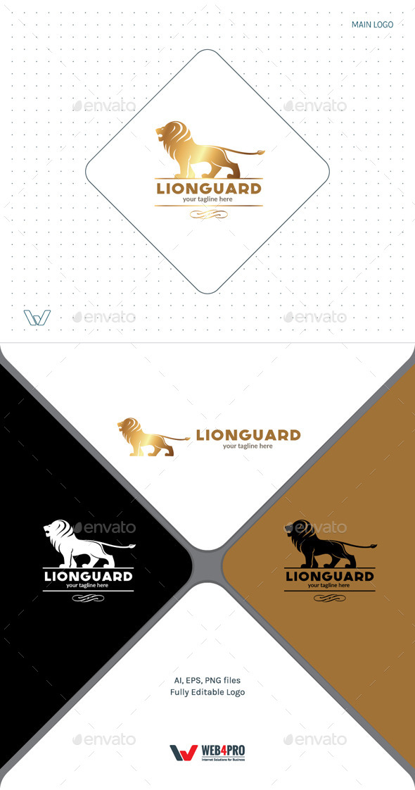 LionGuard Logo - Animals Logo Templates