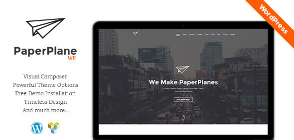PaperPlane – Creative Business Portfolio