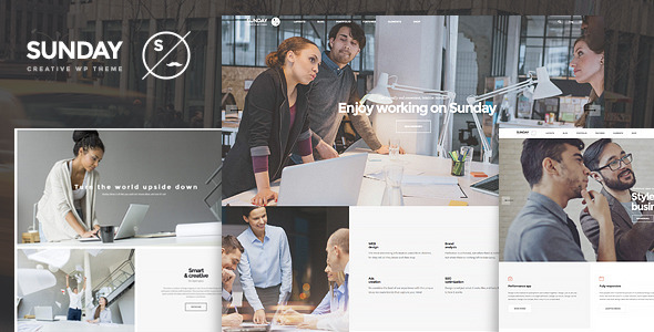Sunday – Highly Functional Multifaceted WP Theme