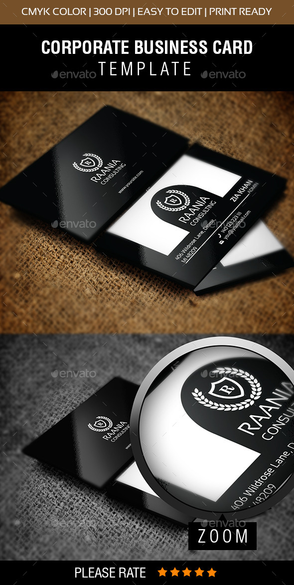 Global Star Vol-25 Business Card - Corporate Business Cards