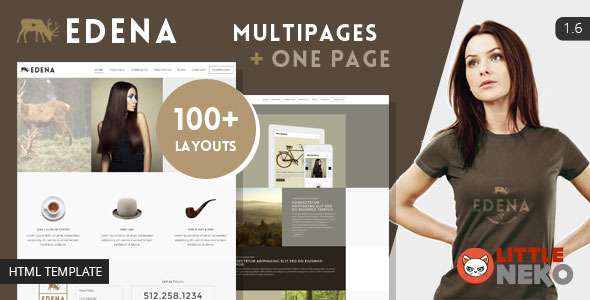 EDENA | Creative & Multipurpose Bootstrap Template