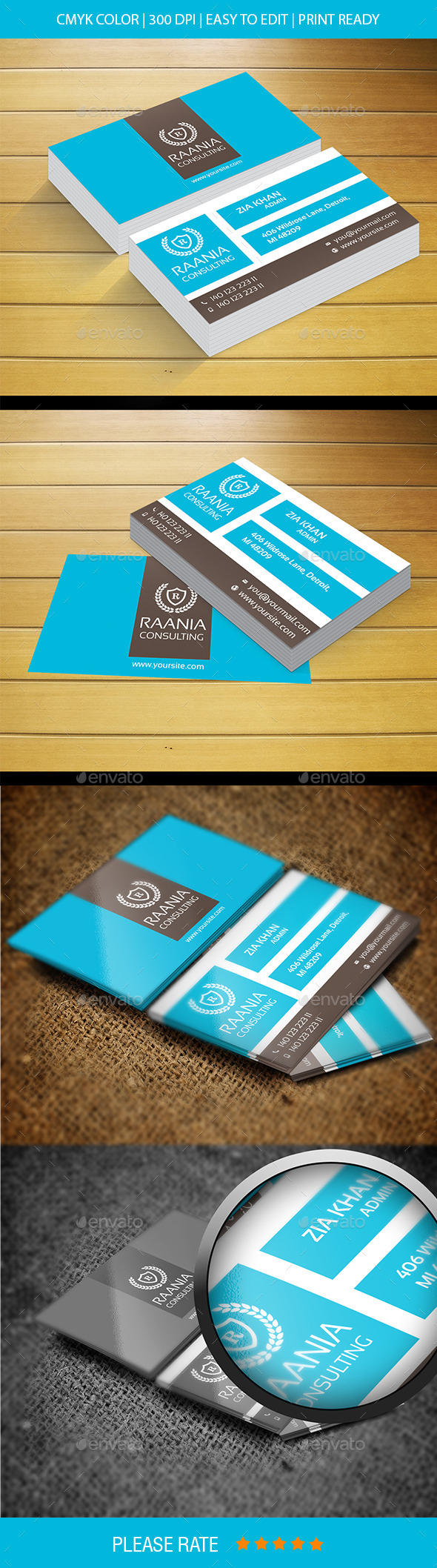 Global Star Vol-26 Business Card - Corporate Business Cards