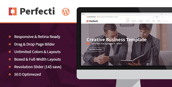 Perfecti – Business MultiPurpose Theme