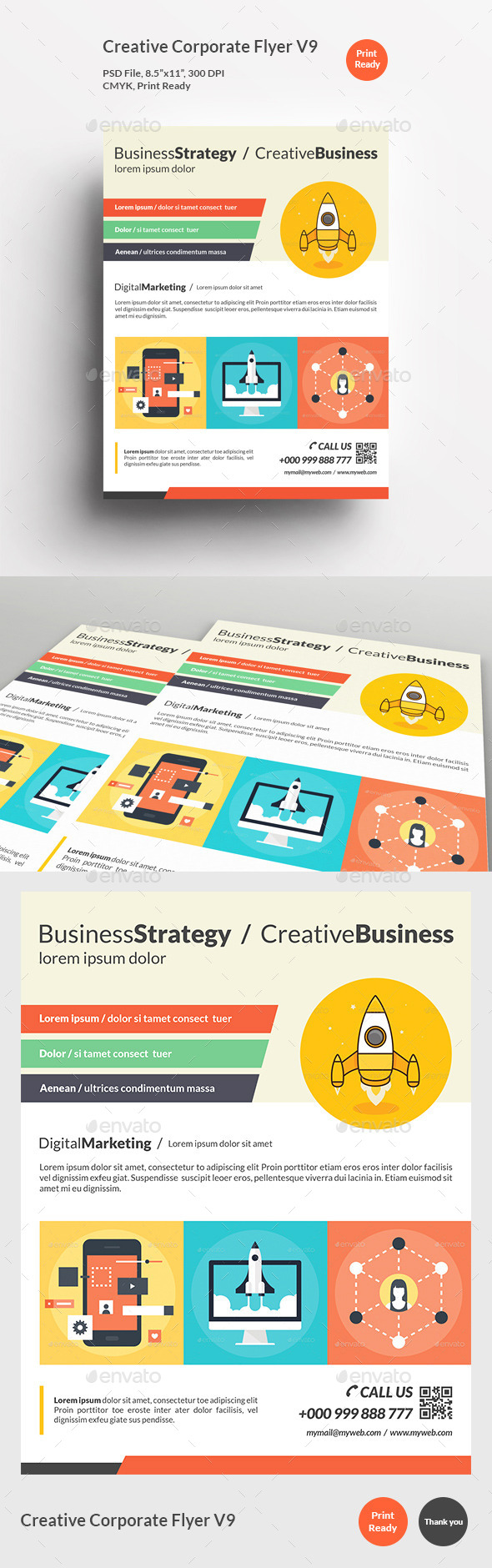 Creative Corporate Flyer V9 - Corporate Flyers