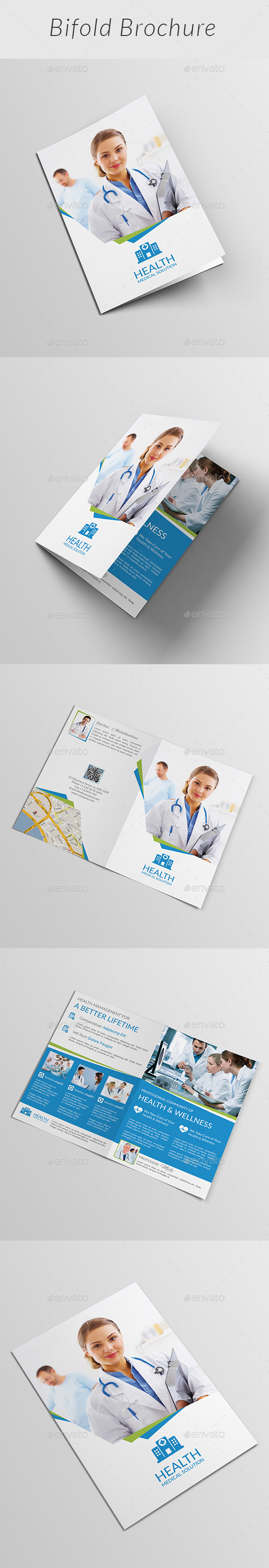 Medical Bifold Brochure | Volume 1 - Corporate Brochures