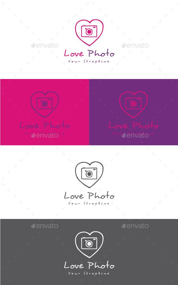 Love Photo Logo - Symbols Logo Templates