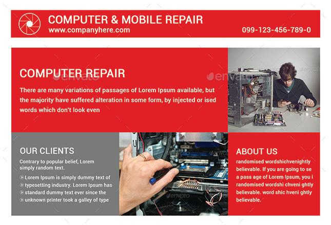 Computer Repair Flyer Word Template Roho4senses