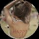 Girl Enjoying a Festival - VideoHive Item for Sale