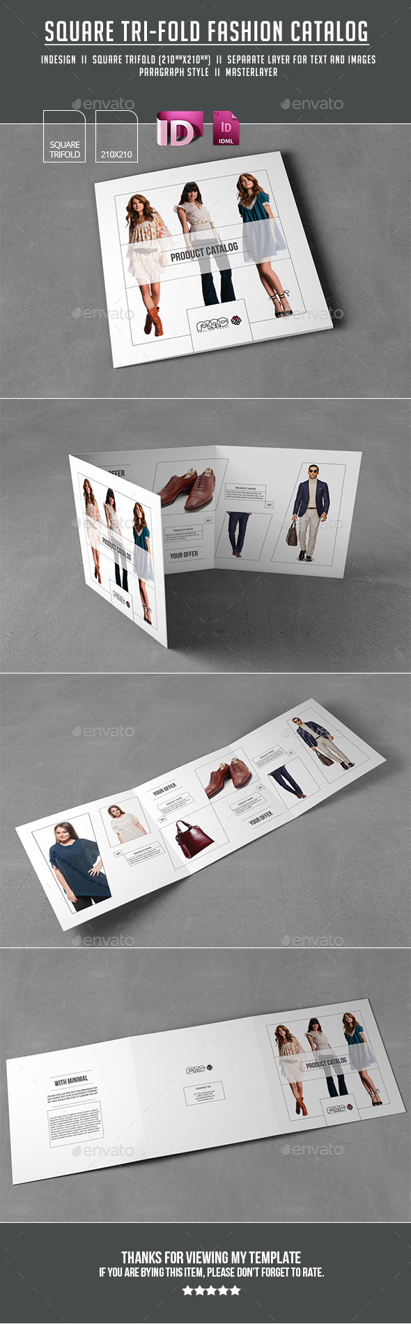 Trifold Brochure - Catalogs Brochures