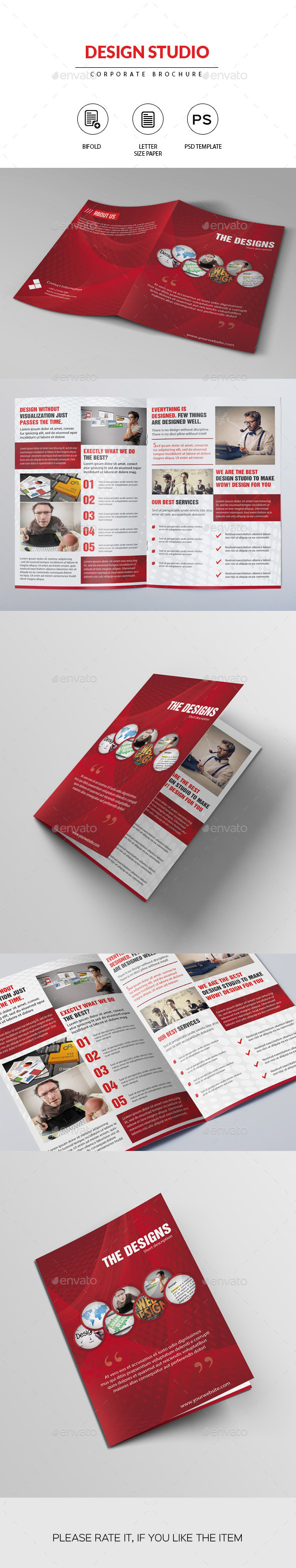 Creative Design Studio Brochure - Corporate Brochures