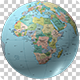 Rotating Globe World Political Map - VideoHive Item for Sale