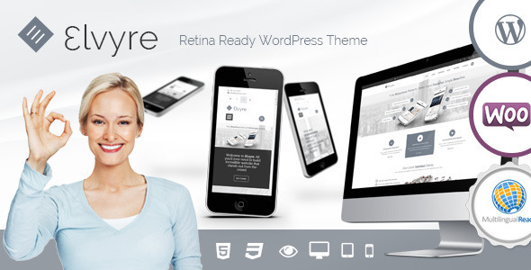 Elvyre – Retina Ready WordPress Theme