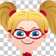 Super Girl Isolated - VideoHive Item for Sale