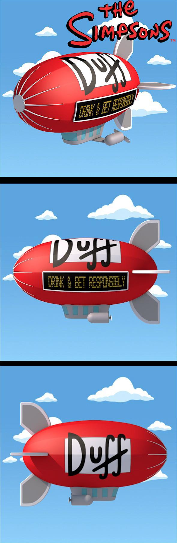 Airship Duff  - 3DOcean Item for Sale